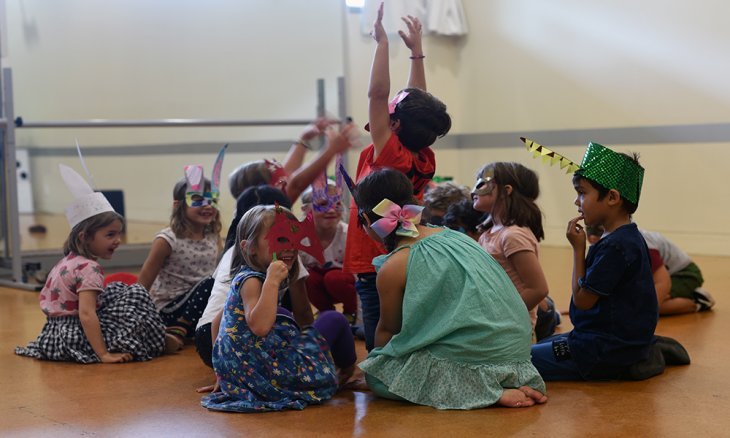Creative Performance holiday programme TAPAC