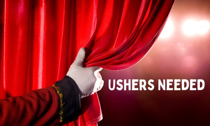 Ushers needed TAPAC
